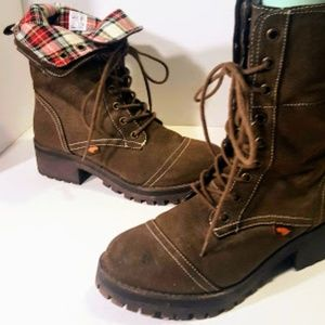 Rocket Dog  Brown combat boot size 7.5